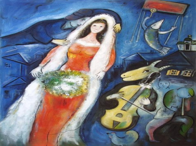 Beautiful La Mariee Marc Chagall Ideas - Joshkrajcik.us - joshkrajcik.us
